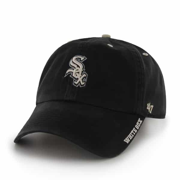 Chicago White Sox Ice Black 47 Brand Adjustable Hat