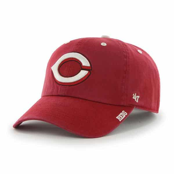 Cincinnati Reds Ice Red 47 Brand Adjustable Hat