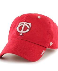 Minnesota Twins Ice Red 47 Brand Adjustable Hat
