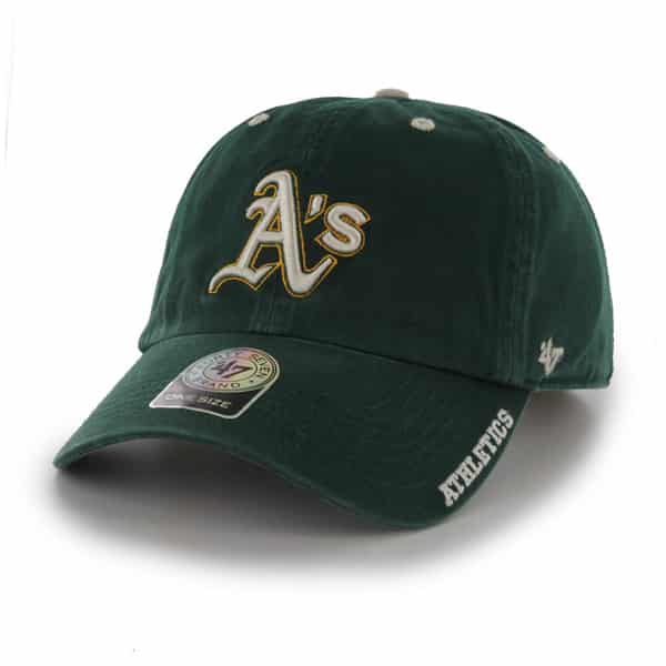 Oakland Athletics Ice Dark Green 47 Brand Adjustable Hat