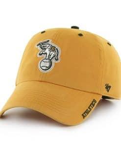 Oakland Athletics Ice Gold 47 Brand Adjustable Hat