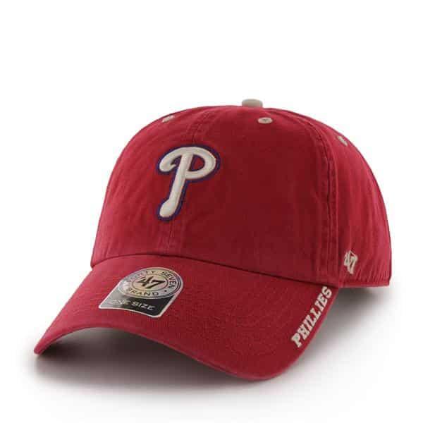 Philadelphia Phillies Ice Red 47 Brand Adjustable Hat
