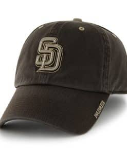San Diego Padres Ice Brown 47 Brand Adjustable Hat