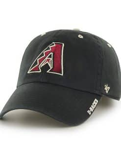 Arizona Diamondbacks Ice Black 47 Brand Adjustable Hat