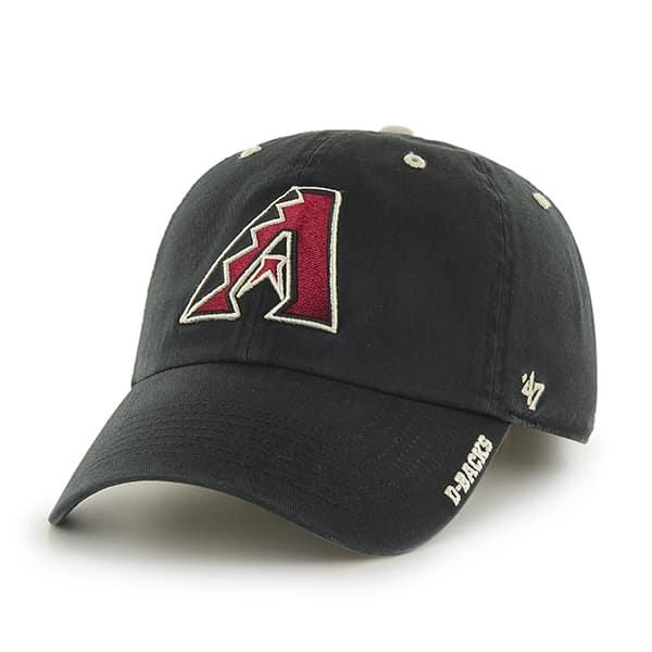 Arizona Diamondbacks Ice Black 47 Brand Adjustable Hat