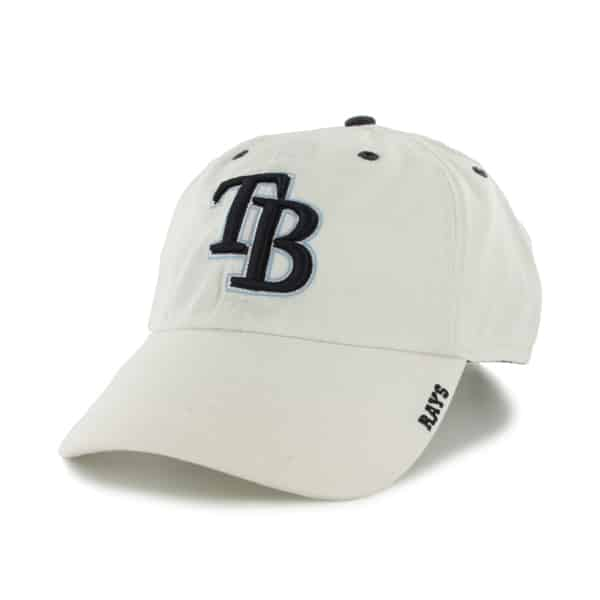 Tampa Bay Rays Ice White 47 Brand Adjustable Hat