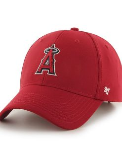 Los Angeles Angels Juke MVP Red 47 Brand YOUTH Hat
