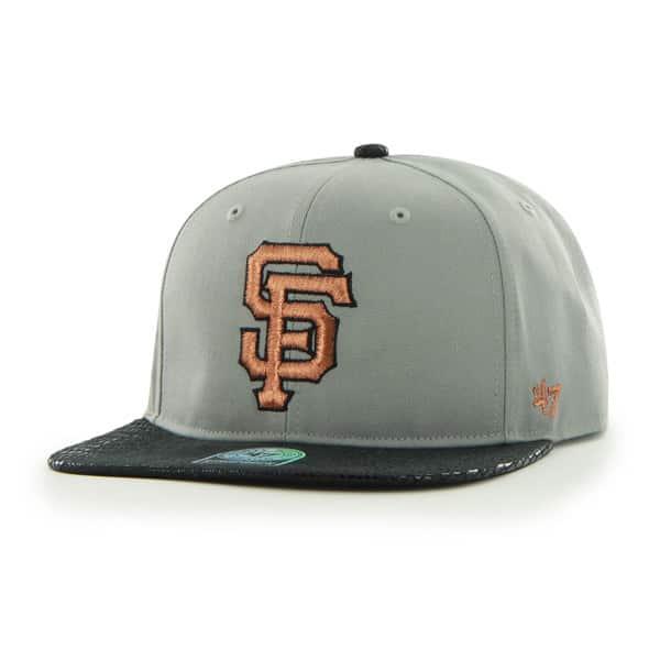 San Francisco Giants Juli Gunk Croc Vintage Gray 47 Brand Adjustable Hat
