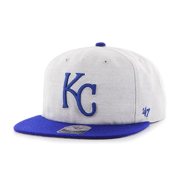 Kansas City Royals Lakeview Captain Rf Gray 47 Brand Adjustable Hat