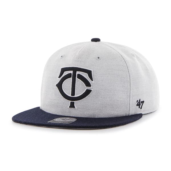 Minnesota Twins Lakeview Captain Rf Gray 47 Brand Adjustable Hat