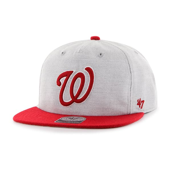 Washington Nationals Lakeview Captain Rf Gray 47 Brand Adjustable Hat