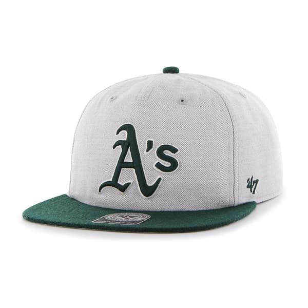 Oakland Athletics Lakeview Captain Rf Gray 47 Brand Adjustable Hat