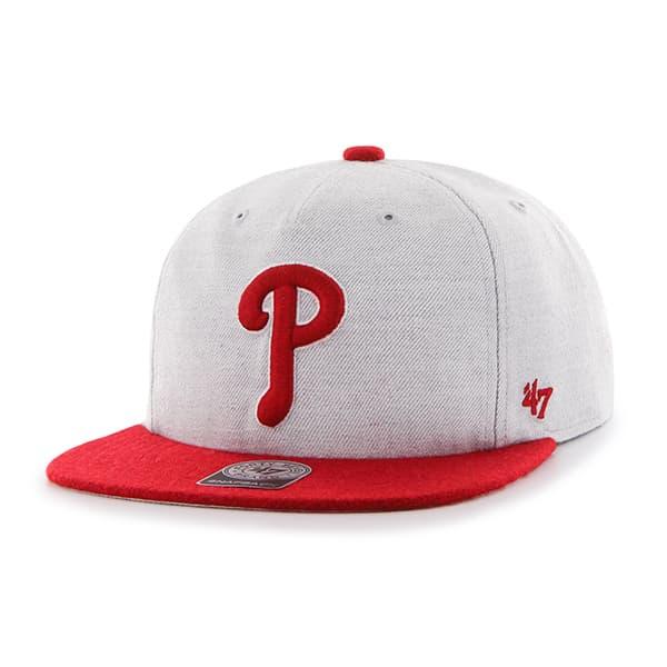 Philadelphia Phillies Lakeview Captain Rf Gray 47 Brand Adjustable Hat