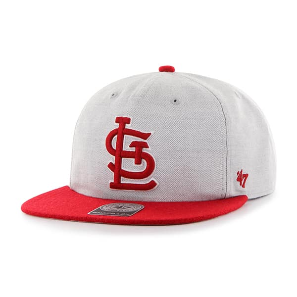 St. Louis Cardinals Lakeview Captain Rf Gray 47 Brand Adjustable Hat