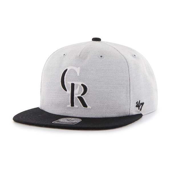 Colorado Rockies Lakeview Captain Rf Gray 47 Brand Adjustable Hat