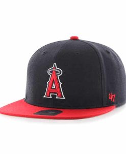 Los Angeles Angels Lil Shot Two Tone Captain Navy 47 Brand YOUTH Hat