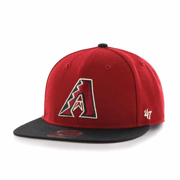 Arizona Diamondbacks Lil Shot Two Tone Captain Razor Red 47 Brand YOUTH Hat