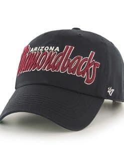 Arizona Diamondbacks Modesto Black 47 Brand Adjustable Hat
