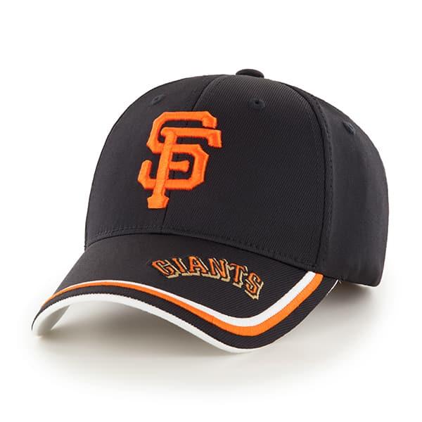 San Francisco Giants Mass Forest Black 47 Brand Adjustable Hat