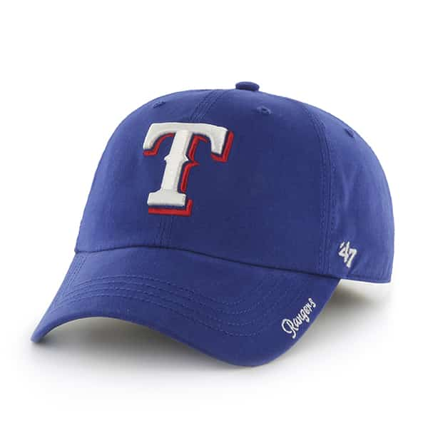 Texas Rangers Women's Miata Blue Clean Up 47 Brand Adjustable Hat