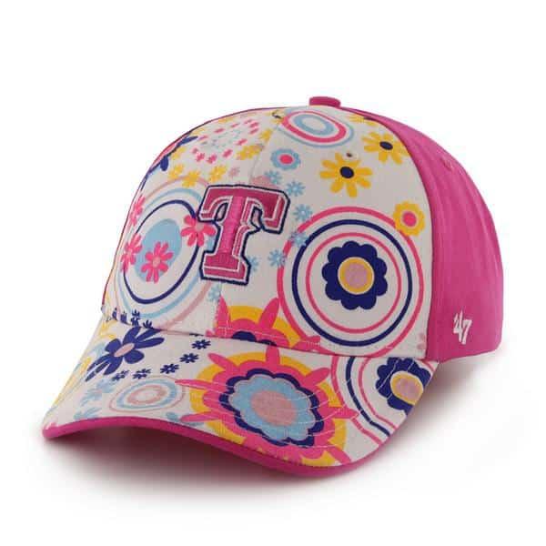 pretty nice 25c97 c0f82 Texas Rangers Missy MVP Magenta 47 Brand TODDLER Hat - Detroit Game Gear