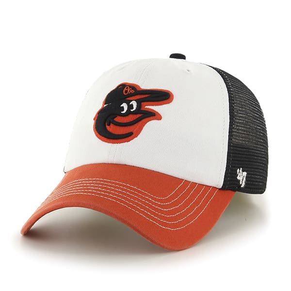Baltimore Orioles Mckinley Closer Black 47 Brand Stretch Fit Hat