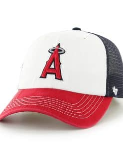 Los Angeles Angels Mckinley Closer Navy 47 Brand Stretch Fit Hat