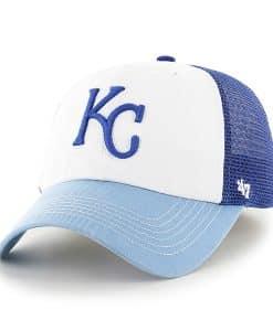 Kansas City Royals Mckinley Closer Royal 47 Brand Stretch Fit Hat