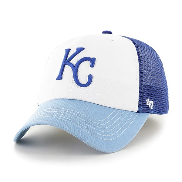 Kansas City Royals Mckinley Closer Royal 47 Brand Stretch Fit Hat