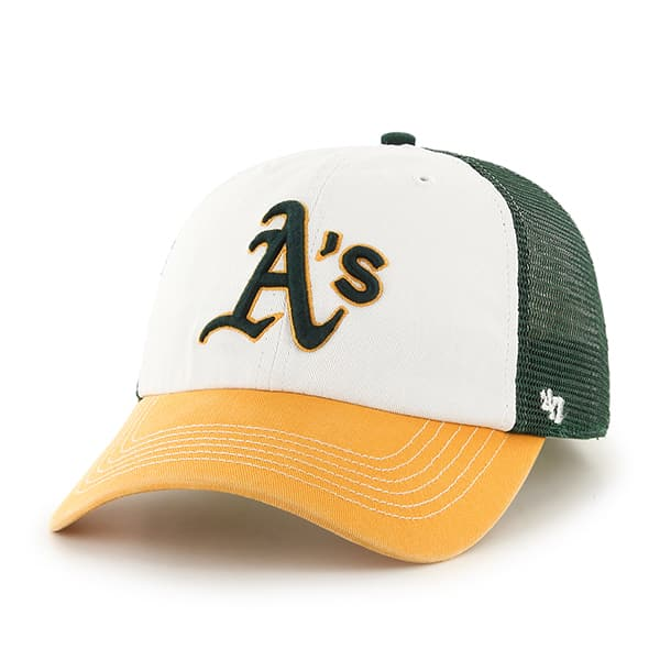 Oakland Athletics Mckinley Closer Dark Green 47 Brand Stretch Fit Hat
