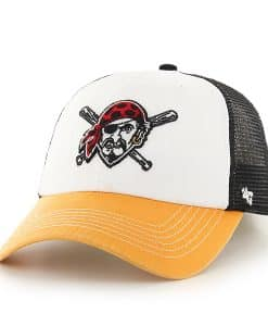 Pittsburgh Pirates Mckinley Closer Black 47 Brand Stretch Fit Hat