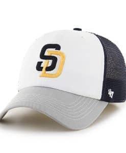 San Diego Padres Mckinley Closer Navy 47 Brand Stretch Fit Hat