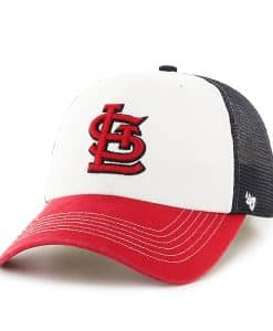 St. Louis Cardinals Mckinley Closer Navy 47 Brand Stretch Fit Hat
