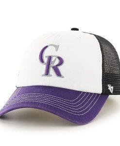 Colorado Rockies Mckinley Closer Black 47 Brand Stretch Fit Hat