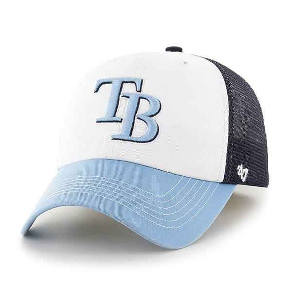 Tampa Bay Rays Mckinley Closer Navy 47 Brand Stretch Fit Hat