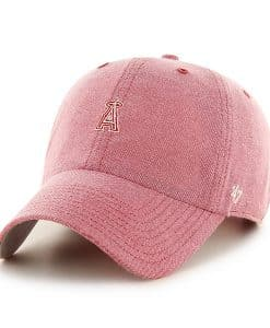 Los Angeles Angels Monument Salute Clean Up Red 47 Brand Adjustable Hat