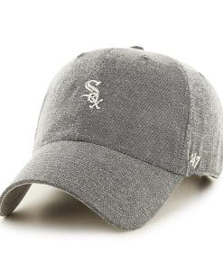 Chicago White Sox Monument Salute Clean Up Gray 47 Brand Adjustable Hat