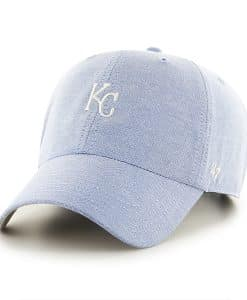 Kansas City Royals Monument Salute Clean Up Periwinkle 47 Brand Adjustable Hat