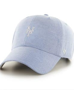 New York Mets Monument Salute Clean Up Periwinkle 47 Brand Adjustable Hat