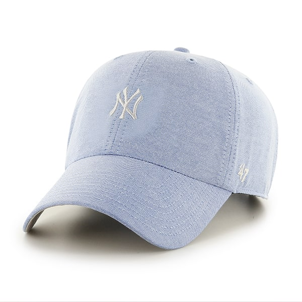 buy online e0abb 4f395 New York Yankees Monument Salute Clean Up Periwinkle 47 Brand Adjustable Hat  - Detroit Game Gear