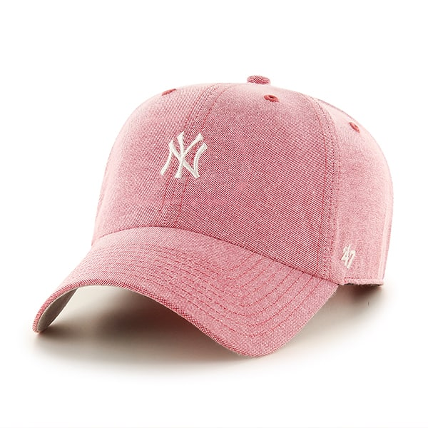 New York Yankees Monument Salute Red Clean Up 47 Brand Adjustable Hat