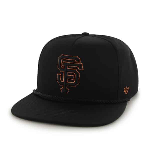 San Francisco Giants Mine Shaft Black 47 Brand Adjustable Hat