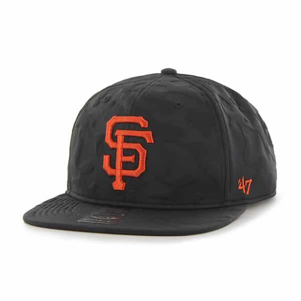 San Francisco Giants M Twenty Nine Captain Black 47 Brand Adjustable Hat