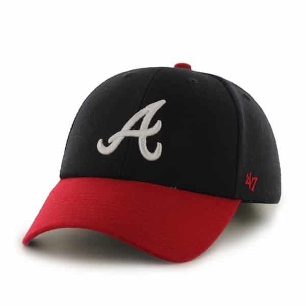 Atlanta Braves MVP Home 47 Brand Adjustable Hat