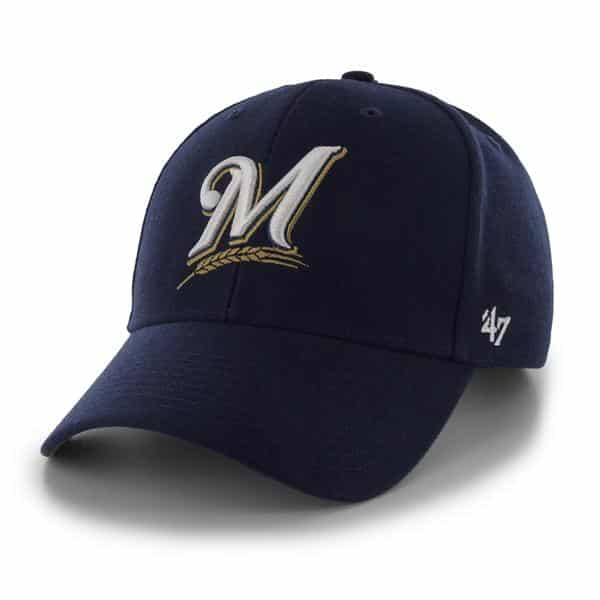 Milwaukee Brewers MVP Home 47 Brand Adjustable Hat