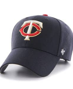 Minnesota Twins MVP Navy 47 Brand Adjustable Hat