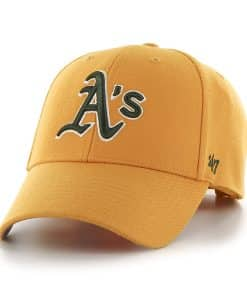 Oakland Athletics MVP Gold 47 Brand Adjustable Hat
