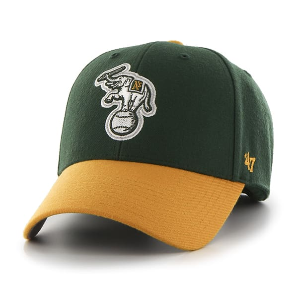 Oakland Athletics MVP Dark Green 47 Brand Adjustable Hat