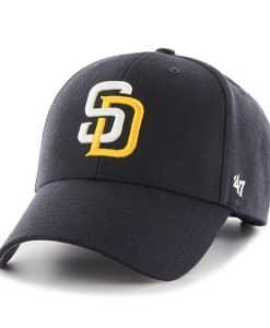 San Diego Padres MVP Navy 47 Brand Adjustable Hat