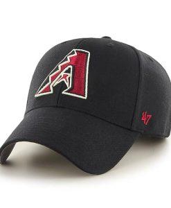 Arizona Diamondbacks MVP Black 47 Brand Adjustable Hat